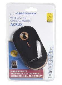 Mysz bezprzewodowa optyczna USB Acrux