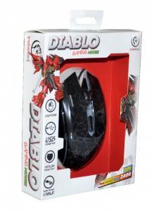Gamingowa mysz optyczna USB DIABLO