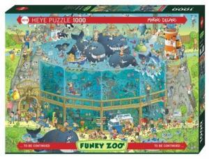 1000 ELEMENTÓW Funky Zoo Podwodne życie