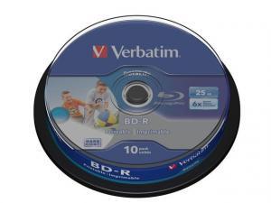 BD-R 6x 25GB 10P CB DataLife Printable 43804