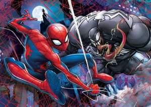 3D VISION 104 elementy Spider-Man