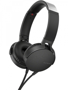 MDR-XB550APB czarne, mikrofon