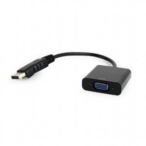 Adapter DisplayPort do VGA czarny