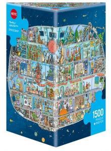 1500 elementów Statek kosmiczny