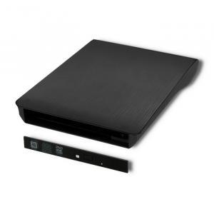 Obudowa/kieszeń na napęd optyczny CD/DVD SATA | USB3.0 | 9.5mm