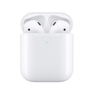 Słuchawki AirPods z etui bezprzewodowym ładującym