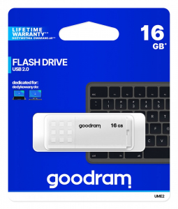 Pendrive UME2 16GB USB 2.0 Biały