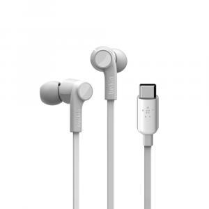 Słuchawki Rockstar USB-C białe