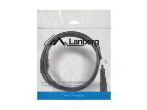 Przedłużacz kabla zasilającego IEC 320 C13 - C14 VDE 1.8M czarny