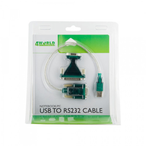 Adapter USB2.0 do RS232 DB9M DB25M