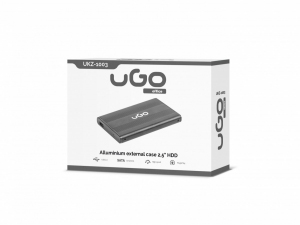Kieszeń zewnętrzna SATA 2,5'' USB 2.0 Aluminium