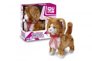 Chodzący kotek Edu&Fun rudy