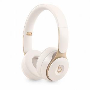 Słuchawki bezprzewodowe Beats Solo Pro Wireless z redukcją szumów - kość słoniowa