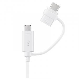 Kabel Combo (Type-C & MicroUSB)White