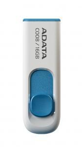 Pendrive DashDrive Classic C008 16GB USB2.0 biało-niebieski