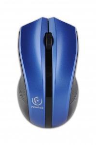 Bezprzewodowa mysz optyczna, GALAXY Blue/silver