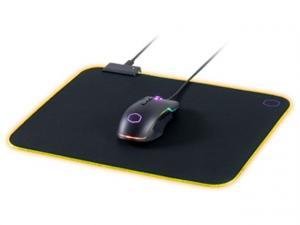 Podkładka pod mysz MasterAccesory MP750 M podświetlana czarna 370x270mm