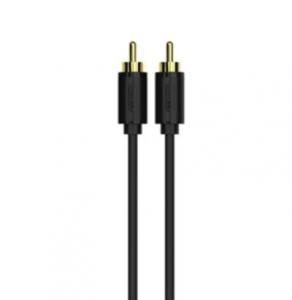 KABEL 2x RCA (M)-2x RCA (M); 1,5m, Y-C945BK,GOLD