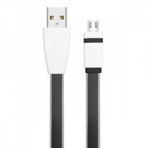 Kabel USB - Micro USB 2m czarny