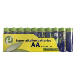 Baterie alkaliczne AA 10 pak