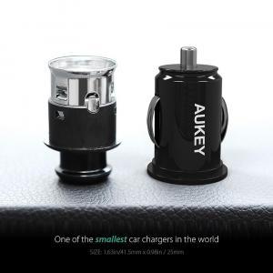 CC-S1 ultraszybka ładowarka samochodowa 2xUSB AiPower 4.8A 24W