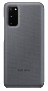Etui Leather Cover Gray do Galaxy S20+