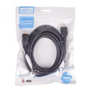 Kabel HDMI 1.4 pozłacany 1.8 m.