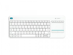 K400 Plus Wireless Touch Keyboard Biała