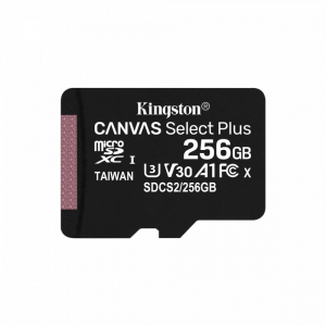 Karta pamięci microSD 256GB Canvas Select Plus 100/85MB/s Adapter