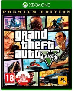 Gra XOne Grand Theft Auto V Premium Ed. PL