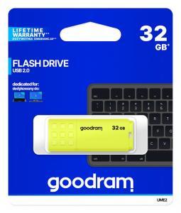 Pendrive UME2 32GB USB 2.0 Żółty