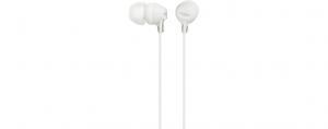 Słuchawki handsfree mikrofon MDR-EX15AP White