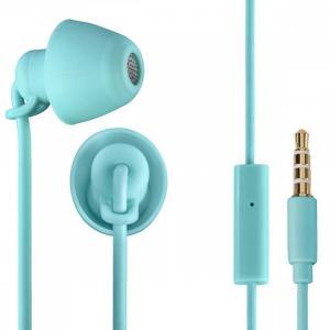 Słuchawki douszne z mikrofonem Piccolino turkusowe