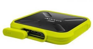 SSD External SD700 512G USB3.1 Durable Żółty