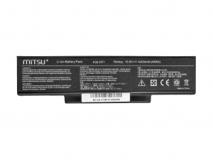 Bateria do Asus K72, K73, N73, X77 4400 mAh (48 Wh) 10.8 - 11.1 Volt