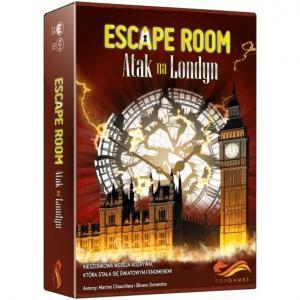 Gra Escape Room: Atak na Londyn