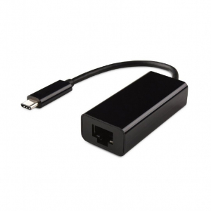 Adapter USB Typ-C do LAN Gigabit czarny