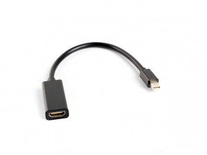 Adapter mini DisplayPort (M) -> HDMI (F) na kablu