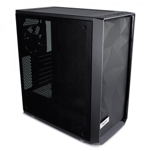 Meshify C Blackout Tempered Glass 2.5'/3.5' drive capacity uATX/ATX/ITX
