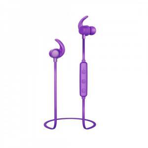 Słuchawki douszne BT WEAR7208PU purpurowe