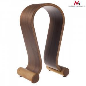 Stojak na słuchawki MC-815W Drewniany Orzech