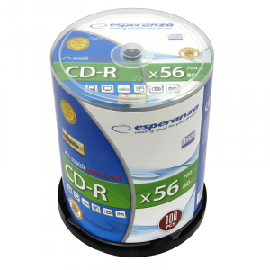 CD-R Silver 700MB x56 - Cake Box 100