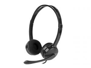 Słuchawki Canary z mikrofonem czarne