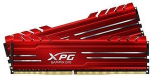 Pamięć XPG GAMIX D10 DDR4 3200 DIMM 16GB (2x8) Kit czerwona