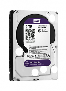 HDD Purple 2TB 3,5'' 64MB SATAIII/5400rpm