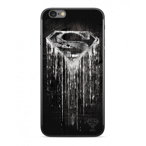 Etui DC Comics Superman 003 iPhone X czarny WPCSMAN078
