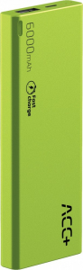 Power Bank ACC+ THIN 6000 mAh zielony