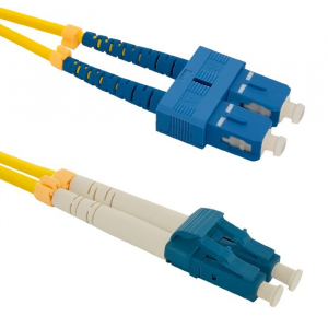 Patchcord światłowodowy SC/UPC-LC/UPC | SM | 9/125 | G652D | 1m