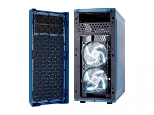 Focus G Blue Window 3.5'HDD/2.5'SDD uATX/ATX/ITX