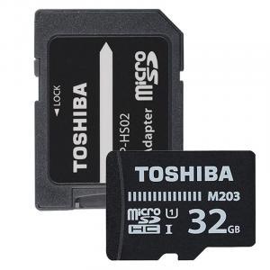 microSD 32GB M203 UHS-I U1 adapter